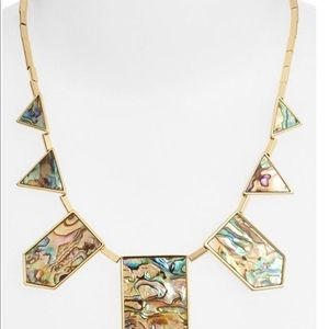 House of Harlow Abalone Necklace